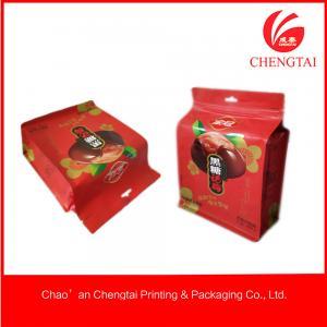 Buy cheap Sacos UV da parte inferior do bloco de impressão com a janela clara para o alimento dos Noshes product