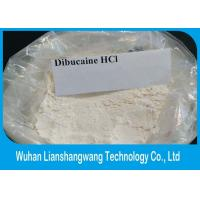 China White Crystalline Powder Local Anesthetic Drugs , CAS 61-12-1 Dibucaine Hydrochloride wholesale