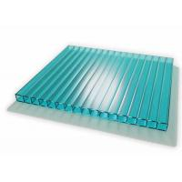 Buy cheap 6 To 12mm Thickness Twin Wall Polycarbonate Sheet Colored With Uv Coated product