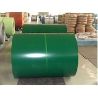 Buy cheap SPCC DC51D SGHC Color Coated Steel Sheet Coating , Prepainted Steel Coil For Roofing product