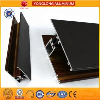 Buy cheap T5/ T6 Industrial Aluminium Profiles Rich Wood Pattern UV Protection product