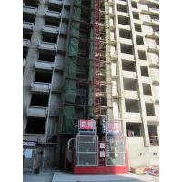 Buy cheap Material Lift Single / Twin Cage construction hoist elevator 50m for 2000kg , 4000kg product