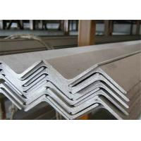 China Easy Welded Stainless Steel Angle Bar , Brushed Stainless Steel Angle  Hot Rolled on sale