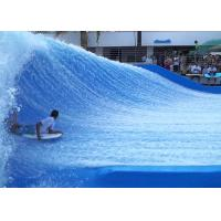 Customized Fiberglass Flowrider Surf Simulator Machine Outdoor Amusement