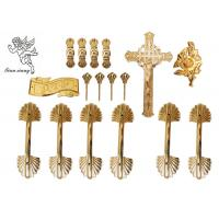 Quality Pale Gold Funeral Plastic Coffin Handles African Style H9003 Customized for sale