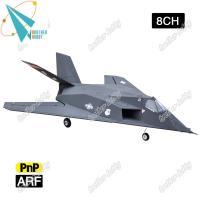 64mm edf 8CH 2.4g F-117 Nighthawk Electric EPS foam rc model airplane EDF jet