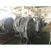 Buy cheap DN1200 Size Double Flanged Gear Box Operator Marine Butterfly Valve product