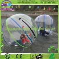 China Colorful inflatable water ball,inflatable walk on water ball,wonderful water ball for sale on sale