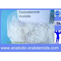 Buy cheap CAS 1045-69-8 Testosterone Acetate Testosterone Steroid Powder for Bodybuilding product