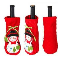 Buy cheap Cute Christmas Fabric Wine Bottles Covers product