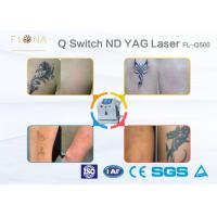 500W Power Q Switched ND YAG Laser Machine Customized Color With Cooling System