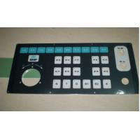 China Metal Dome Waterproof Keypad Membrane Switch For Industrial Control , Dust-Proof on sale
