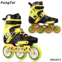 Buy cheap Factory Wholesale Men Women Roller Inline Skate Shoe Speed Skates Shoes 2 in 1 from wholesalers