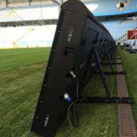 Buy cheap Sports Perimeter Led Display Advertising Boards P8/10/16 5500-8000 Nits With Fast Joint Design product