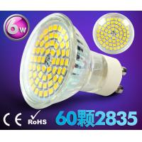 Buy cheap led spot light GU10 AC85-265V E27 bulb 60pcs SMD2835 high brightness new down indoor lamp product
