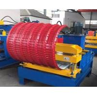 Buy cheap PLC Control Roof Pipe Bending Machine Hydraulic With Adjustable Speed product