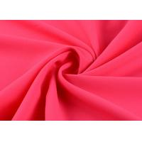 Buy cheap Superfine Damask Silk Polyester Chiffon Fabric Elastic Plain Dyed 50d * 50d product
