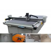 Low Layer Gasket Cutting Machines Liner Guide Driving System With Conveyor Belt
