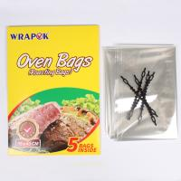 Buy cheap High Temperature Resistant Plastic Oven Bags For Cooking , Oven Bag Chicken Use product