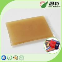 Buy cheap Gelatin resin Amber color Block solid Hot Melt Solid Animal Jelly Glue Used With Middle High Speed Machines product