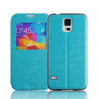 China Ultra Slim Flip PU Leather Cell Phone Wallet Samsung Galaxy Note 3 N9000 Case Blue on sale