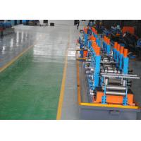 Quality ERW Round Carbon Steel Pipe Making Machine With Worm Adjustment High Precision for sale