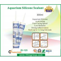Buy cheap 300ml Acid Curing Aquarium Silicone Sealant , Waterproof And Non Corrosive product
