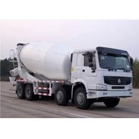 Euro 2 Emission Concrete Agitator Truck , 30 Ton 6x4 Driving Type Mix Concrete Truck