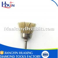 Lightweight Nail Drill Bit Cleaning Brush , Rotary Tool Polishing Bits Antibacterial