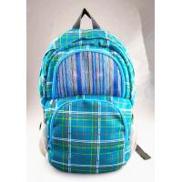 Buy cheap Deep Cyan Speakers Backpack double bags with lattice fringes  X-04 product