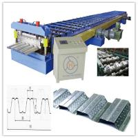 China 30KW Floor Deck Roll Forming Machine for Large Steel Structure Building Manufacturer Total 28 Stations on sale