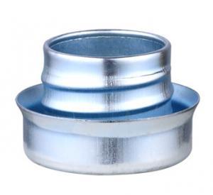 Buy cheap Metal Flexible Conduit Fittings Conduit Ferrule Flat Type Galvanized Surface product