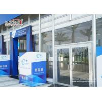 Buy cheap Transparent Outdoor Exhibition Tents Heat Resistant Glass Wall product