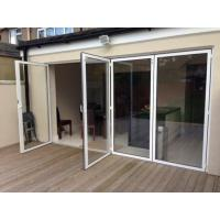 China Interior Room Dividers Soundproof Insulated Glass Aluminium Bi-Folding Doors,Bi Fold Doors For Living Room on sale