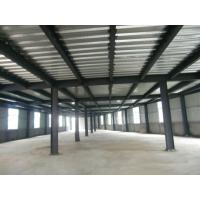 Buy cheap High Strength Garage Steel Frame With Colored Steel Sheet And Frp Lighting Tiles product