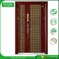 Buy cheap Entry Doors Type and Finished Surface Finishing steel security door of high quality;steel door product