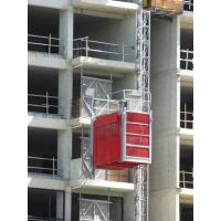 Buy cheap Vertical Rack And Pinion Hoists Red 2700kg OEM for Building / Factory product