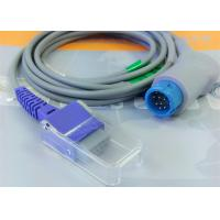 Quality Compatible Philips SpO2 Sensor Adapter Cable for Philips M1900B with Nellcor for sale