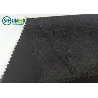 Buy cheap Brushed Twill Woven Fusible Interlining Textile Polyester Viscose Mixed Lining for Men Suit product