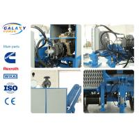 China 600mm Bull Wheel Hydraulic Pulling Machine , 150KN Cable Pulling Equipment on sale