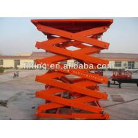 Buy cheap Safe Hydraulic Scissor Lift Platform 2t 3t 4t with high load capacity for airport product