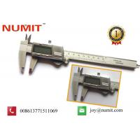Buy cheap Stainless Steel High Accuracy Big LCD Screen Digital Vernier Caliper product