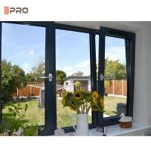 Buy cheap Tilt And Turn Aluminum Windows Double Glass Customized Design product