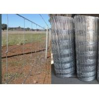 Buy cheap Cattle Farming Fence / Hot-Dipped Filed Wire Mesh Fence For Poultry product