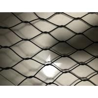 Buy cheap Animal Protect Stainless Steel Hand Woven Mesh 20mm - 200mm Aperture product