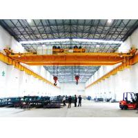 Buy cheap 30 Ton Twin Trolley Double hook Double Girder Overhead Crane for warehouse product