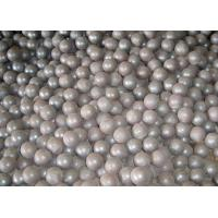 Buy cheap Grade GCr15 Forged Steel Ball 16mm Forged Grinding Balls For Mining / Cement product