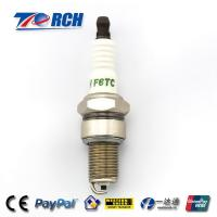 Buy cheap Motorcycle spark plug F6TC match for BP6ES /WR7DP/W7DC/A-Line 4/N9YC/W20EPR/C62LS product