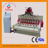 China China 3D Relief cnc router machine  TYE-2415-8R wholesale
