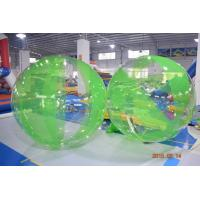 China Colored Inflatable Water Volleyball Ball / Walking Ball With Logo Printed on sale